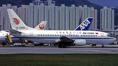 B-2580 - Boeing 737-3J6 - Air China