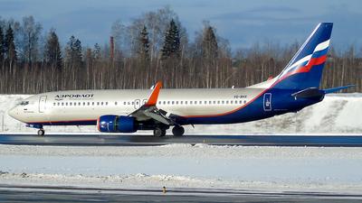 VQ-BHX - Boeing 737-8LJ - Aeroflot
