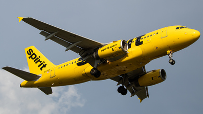 N515NK - Airbus A319-132 - Spirit Airlines