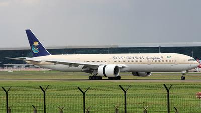 HZ-AK16 - Boeing 777-368ER - Saudi Arabian Airlines