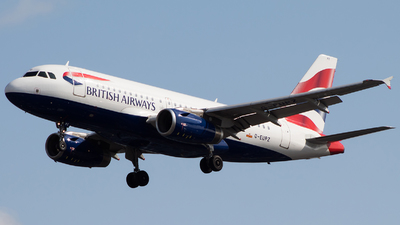 G-EUPZ - Airbus A319-131 - British Airways