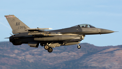 87-0355 - General Dynamics F-16C Fighting Falcon - United States - US Air Force (USAF)
