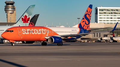 N840SY - Boeing 737-8JP - Sun Country Airlines