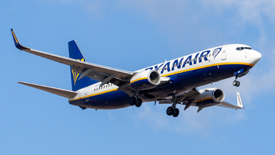 A picture of SPRKG - Boeing 7378AS - Ryanair - © Denis Kuzmenko