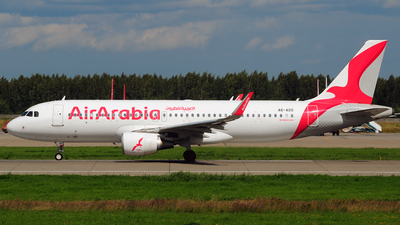 A6-AOS - Airbus A320-214 - Air Arabia
