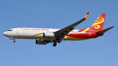 B-5372 - Boeing 737-84P - Hainan Airlines