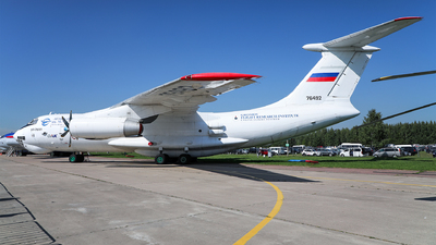76492 - Ilyushin IL-76LL - Russia - Gromov Flight Research Institute