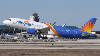 A picture of N276NV - Airbus A320214 - Allegiant Air - © DJ Reed - OPShots Photo Team