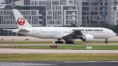 JA701J - Boeing 777-246(ER) - Japan Airlines (JAL)