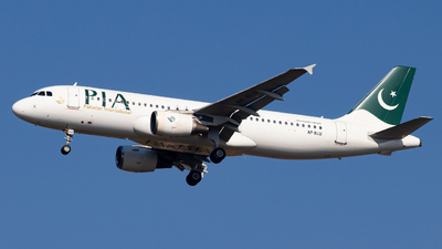 A picture of APBLU - Airbus A320214 - Pakistan International Airlines - © Hassaan Ali Khan