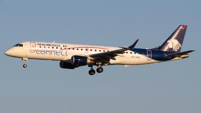 XA-HAC - Embraer 190-100LR - Aeromexico Connect