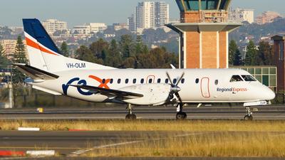 VH-OLM - Saab 340B - Regional Express (REX)