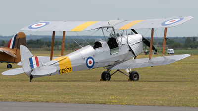 G-ANZZ - De Havilland DH-82A Tiger Moth II - Private