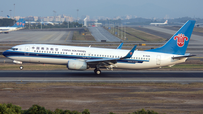 B-1525 - Boeing 737-81B - China Southern Airlines