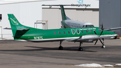 N787C - Fairchild SA227-AC Metro III - Key Lime Air