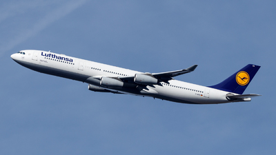A picture of DAIGS - Airbus A340313 - Lufthansa - © TJDarmstadt