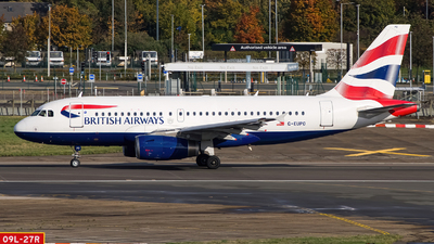 A picture of GEUPO - Airbus A319131 - British Airways - © Ervin Eslami | UK Jets