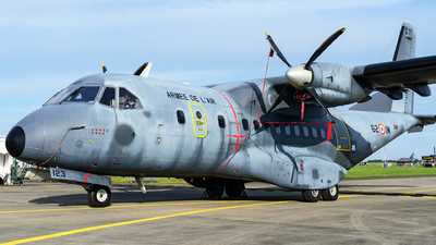 123 - CASA CN-235M-200 - France - Air Force