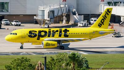 N535NK - Airbus A319-133 - Spirit Airlines