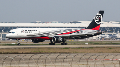 A picture of B7689 - Boeing 75728A(PCF) - SF Airlines - © Aircraft carrier FX