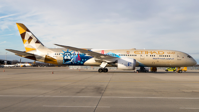 A6-BLC - Boeing 787-9 Dreamliner - Etihad Airways