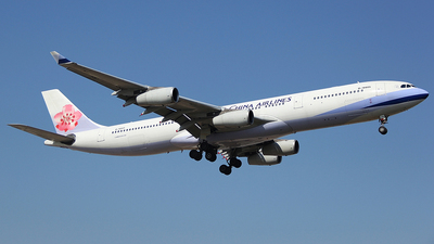 A picture of B18805 - Airbus A340313 - [0415] - © chenwanpingCPU
