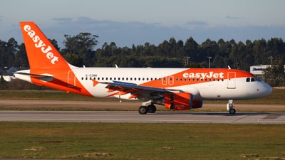 A picture of GEZBR - Airbus A319111 - easyJet - © António Jorge Oliveira