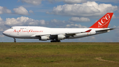 D-ACGA - Boeing 747-409(BDSF) - Air Cargo Germany