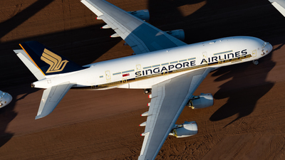 A picture of 9VSKP - Airbus A380841 - Singapore Airlines - © Mitch Coad