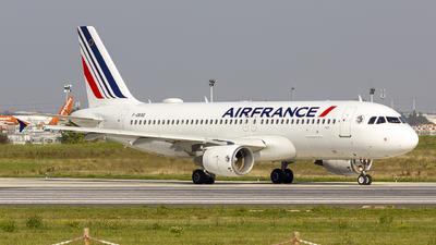 F-GKXG - Airbus A320-214 - Air France