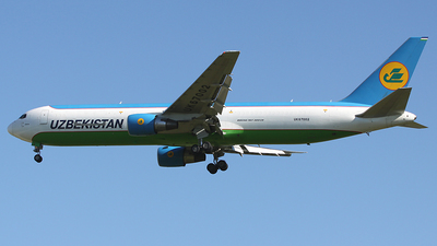 UK67002 - Boeing 767-33P(ER)(BCF) - Uzbekistan Airways Cargo