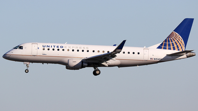 A picture of N154SY - Embraer E175LR - United Airlines - © AviaStar Photography