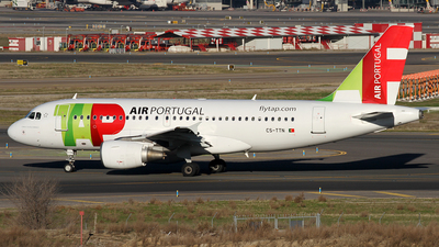 CS-TTN - Airbus A319-111 - TAP Air Portugal