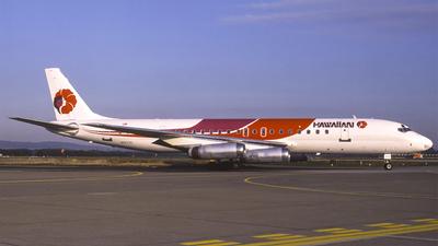 N8973U - Douglas DC-8-62H - Hawaiian Airlines