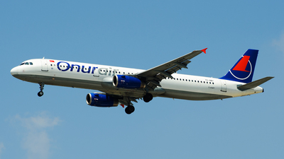 TC-OBY - Airbus A321-231 - Onur Air