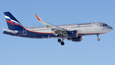 A picture of VPBTO - Airbus A320214 - Aeroflot - © SN7756