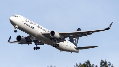 N653UA - Boeing 767-322(ER) - United Airlines