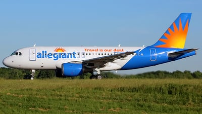 A picture of N328NV - Airbus A319111 - Allegiant Air - © Chrisjake