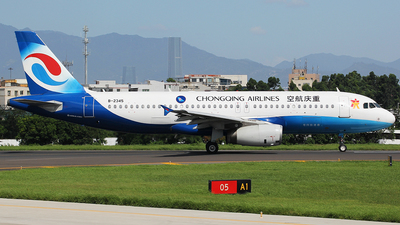 A picture of B2345 - Airbus A320233 - Chongqing Airlines - © chenwanpingCPU