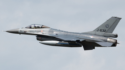 J-632 - General Dynamics F-16AM Fighting Falcon - Netherlands - Royal Air Force