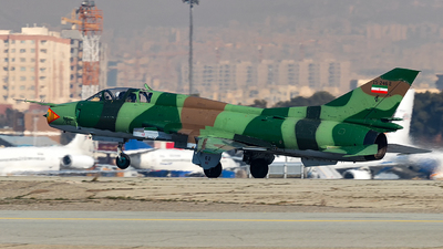 15-2462 - Sukhoi Su-22UM3K Fitter G - Iran - Revolutionary Guard