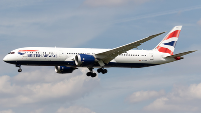 G-ZBKB - Boeing 787-9 Dreamliner - British Airways