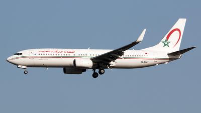 A picture of CNROC - Boeing 7378B6 - Royal Air Maroc - © Simone Previdi
