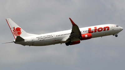 PK-LKO - Boeing 737-9GPER - Lion Air