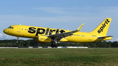 N622NK - Airbus A320-232 - Spirit Airlines