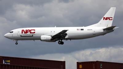 A picture of N405YK - Boeing 737436(SF) - Northern Air Cargo - © Len Schwartz