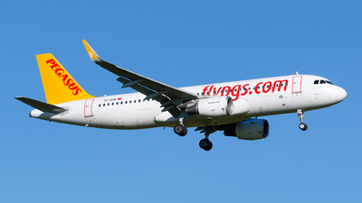 A picture of TCDCM - Airbus A320214 - Pegasus Airlines - © Matteo Lamberts