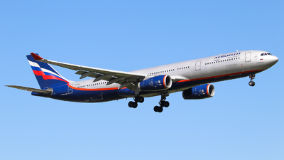 A picture of VQBQZ - Airbus A330343 - Aeroflot - © Vitaly Revyakin