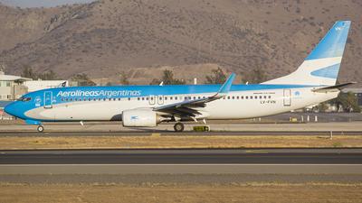 A picture of LVFVN - Boeing 7378SH - Aerolineas Argentinas - © Vicente Quezada Duran