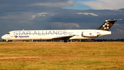 EC-GVO - McDonnell Douglas MD-83 - Spanair
